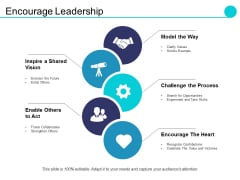 Encourage Leadership Ppt PowerPoint Presentation Summary Designs