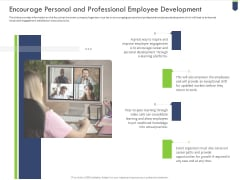 Encourage Personal And Professional Employee Development Template PDF
