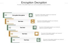 Encryption Decryption Ppt PowerPoint Presentation Outline Topics Cpb Pdf