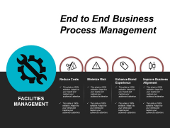 End To End Business Process Management Ppt Powerpoint Presentation Summary Visual Aids