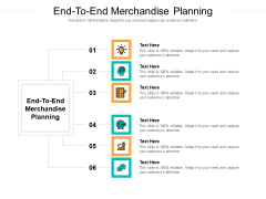End To End Merchandise Planning Ppt PowerPoint Presentation Layouts Structure Cpb Pdf