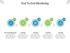 End To End Monitoring Ppt PowerPoint Presentation Pictures Styles Cpb Pdf