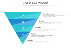 End To End Principle Ppt PowerPoint Presentation Professional Pictures Cpb