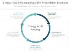 Energy Audit Process Powerpoint Presentation Examples