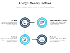 Energy Efficiency Systems Ppt PowerPoint Presentation Portfolio Introduction Cpb