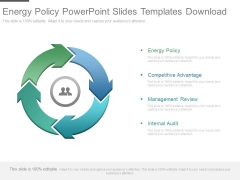 Energy Policy Powerpoint Slides Templates Download
