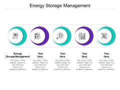 Energy Storage Management Ppt PowerPoint Presentation Show Portfolio Cpb