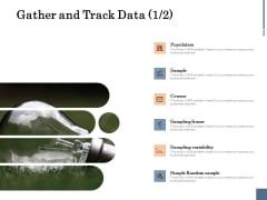 Energy Tracking Device Gather And Track Data Population Ppt PowerPoint Presentation Professional Slides PDF