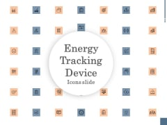 Energy Tracking Device Icons Slide Ppt PowerPoint Presentation Gallery Example Introduction PDF