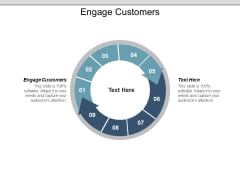 Engage Customers Ppt PowerPoint Presentation Summary Portrait
