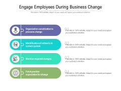 Engage Employees During Business Change Ppt PowerPoint Presentation Icon Templates