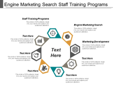 Engine Marketing Search Staff Training Programs Marketing Development Ppt PowerPoint Presentation Model Samples