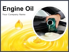 Engine Oil Oil Spray Red Oil Ppt PowerPoint Presentation Complete Deck