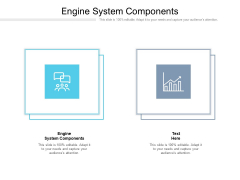 Engine System Components Ppt PowerPoint Presentation Styles Ideas Cpb Pdf