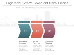 Engineered Systems Powerpoint Slides Themes