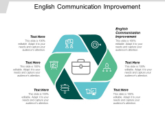 English Communication Improvement Ppt PowerPoint Presentation Infographic Template Introduction Cpb