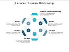 Enhance Customer Relationship Ppt PowerPoint Presentation Pictures Background Images Cpb