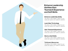 Enhance Leadership Abilities Gain Teamwork Experience And Soft Skills Ppt PowerPoint Presentation Outline Introduction
