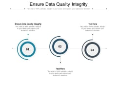 Ensure Data Quality Integrity Ppt PowerPoint Presentation Gallery Images Cpb Pdf