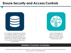 Ensure Security And Access Controls Ppt PowerPoint Presentation Inspiration Portfolio
