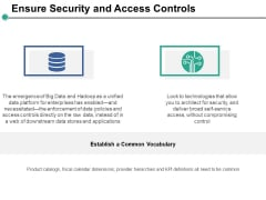 Ensure Security And Access Controls Ppt PowerPoint Presentation Slides Information