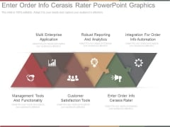 Enter Order Info Cerasis Rater Powerpoint Graphics
