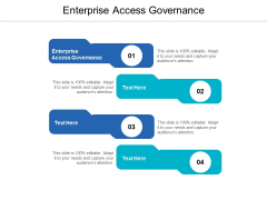 Enterprise Access Governance Ppt PowerPoint Presentation Model Mockup Cpb
