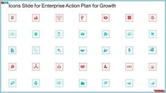 Enterprise Action Plan For Growth Icons Slide For Enterprise Action Plan For Growth Diagrams PDF