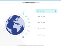 Enterprise Analysis Environmental Issues Ppt File Information PDF