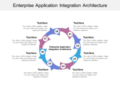 Enterprise Application Integration Architecture Ppt Powerpoint Presentation Icon Layout Cpb