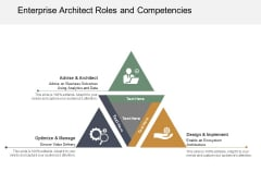 Enterprise Architect Roles And Competencies Ppt Powerpoint Presentation Icon Background Image