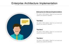 Enterprise Architecture Implementation Ppt PowerPoint Presentation Ideas Structure Cpb Pdf