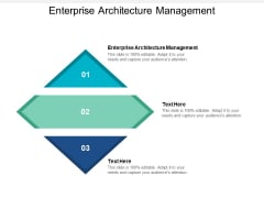 Enterprise Architecture Management Ppt PowerPoint Presentation Gallery Example Cpb
