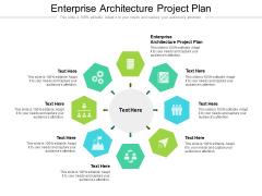 Enterprise Architecture Project Plan Ppt PowerPoint Presentation Diagram Ppt Cpb Pdf