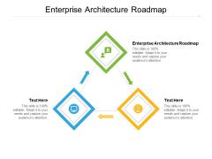 Enterprise Architecture Roadmap Ppt PowerPoint Presentation Portfolio Examples Cpb Pdf