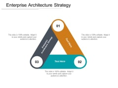 Enterprise Architecture Strategy Ppt PowerPoint Presentation Inspiration Design Templates Cpb