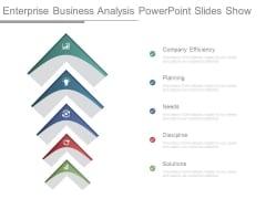Enterprise Business Analysis Powerpoint Slides Show