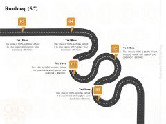Enterprise Capabilities Training Roadmap Five Process Flow Ppt PowerPoint Presentation Slides Download PDF