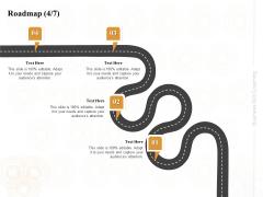 Enterprise Capabilities Training Roadmap Four Process Flow Ppt PowerPoint Presentation Show Graphics Download PDF