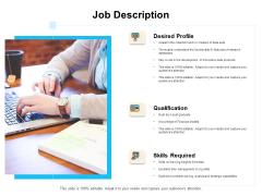 Enterprise Capability Management Job Description Ppt Professional Background PDF