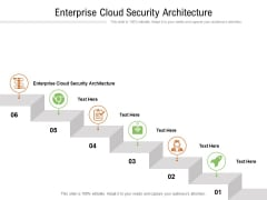 Enterprise Cloud Security Architecture Ppt PowerPoint Presentation Professional Backgrounds Cpb Pdf
