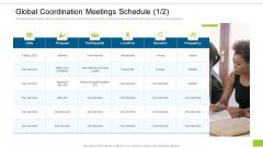 Enterprise Collaboration Global Scale Global Coordination Meetings Schedule Date Microsoft PDF