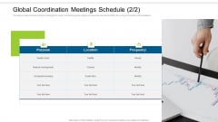 Enterprise Collaboration Global Scale Global Coordination Meetings Schedule Graphics PDF
