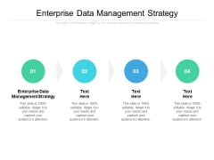 Enterprise Data Management Strategy Ppt PowerPoint Presentation Gallery Backgrounds Cpb