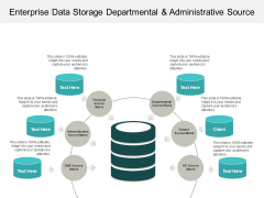 Enterprise Data Storage Departmental And Administrative Source Ppt PowerPoint Presentation Inspiration Clipart