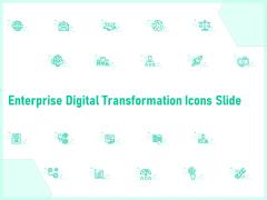 Enterprise Digital Transformation Icons Slide Ppt Model Layout PDF