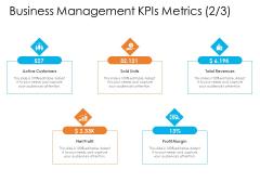 Enterprise Governance Business Management Kpis Metrics Net Information PDF