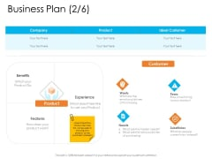 Enterprise Governance Business Plan Benefits Professional PDF
