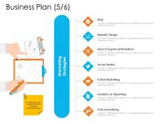 Enterprise Governance Business Plan Media Infographics PDF