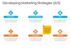 Enterprise Governance Developing Marketing Strategies Information PDF